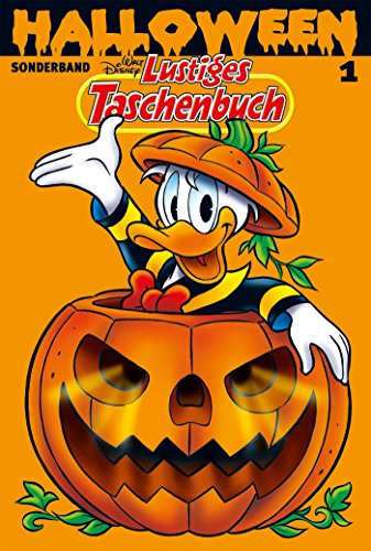 Lustiges Taschenbuch Halloween 01: - Duck Donald Halloween Disney