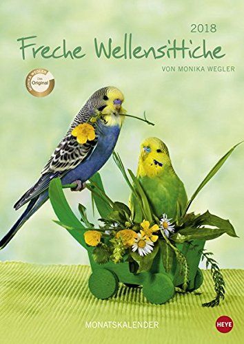 Wegler Wellensittiche A4 - Kalender 2018