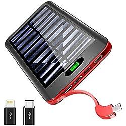 Chargeur Solaire Portable 16000mAh