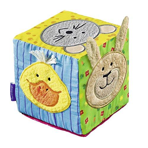 Ravensburger ministeps Musikalischer Softwürfel - 04469 / Spielwürfel mit Musik und Geräuschen für Kinder ab 6 Monate - Förderung der Motorik & des Tastsinns (Musikalisches Spielzeug Baby)