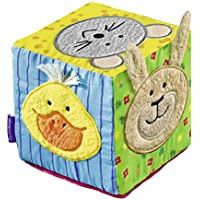 Ravensburger ministeps Musical Soft Dice–04469Play Cube with Music and Sounds for Children from 6Months–Promotes fine motor skills & of the sense of touch