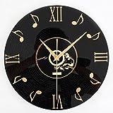 FOKOM 12 Zoll 30cm Lautlos Wanduhr Uhr Wall Clock ohne Tickgeräusche
