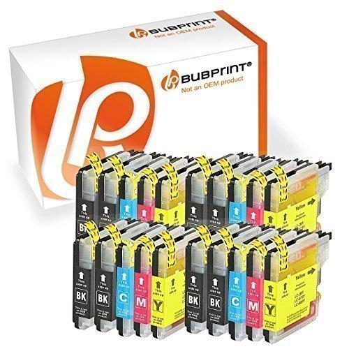 Bubprint 20 Druckerpatronen kompatibel für Brother LC 985 LC985 LC-985 für DCP J125 J 125 140W...