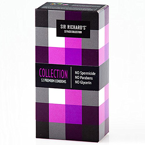 Sir Richards Collection Condoms - Pack of 12
