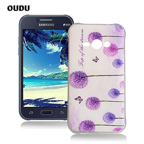 baf01d46957 OuDu Funda para Samsung Galaxy J1 ACE SM-J110 Carcasa Protectora Caso  Silicona TPU Funda Suave Soft Silicone Case Cover Bumper Funda Ultra  Delgado Carcasa ...
