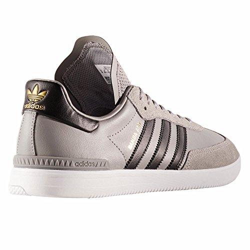Adidas Mens Samba Adv Skater Shoes Grey (grpuch / Negbas / Ftwbla)