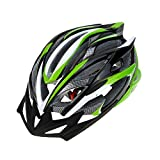 #10: Lixada Mtb Road Cycling Mountain Bike Bicycle Adjustable Helmet 25 Vents Ultralight Integrally-molded EPS for Skating Outdoor Sports