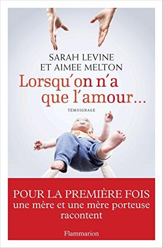 Livres gratuits Lorsqu'on n'a que l'amour... epub pdf