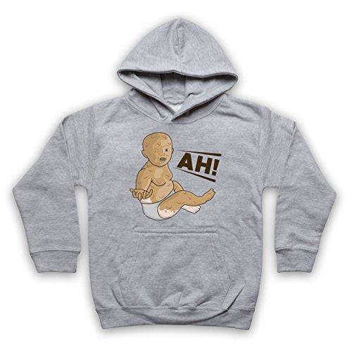 ng Peanut Butter Baby Kinder Kapuzensweater, Grau, 5-6 Jahren ()