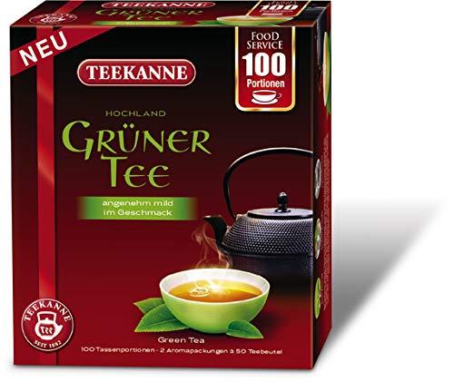 TEEKANNE Grüner Tee Hochland, Beutel, 2 x 50 Beutel à 1,5 g