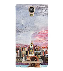EPICCASE City View Mobile Back Case Cover For Gionee Marathon M5 Plus (Designer Case)