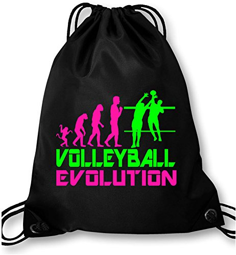 EZYshirt® Volleyball Evolution Turnbeutel
