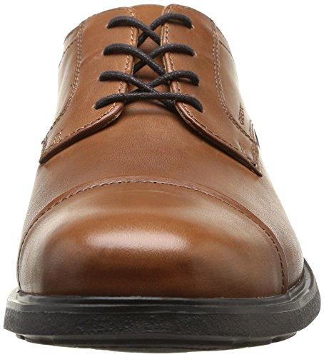 Geox - Dublin C, Mocassino da uomo Marrone (Brown  (Dark Brown))