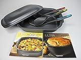 TUPPERWARE UltraPro 3,3L Bräter+Löffel+Pfannenwender+ Rezepthefte Ultra Pro