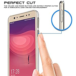Jkobi Exclusive Soft Silicone TPU Jelly Crystal Clear Soft Back Case Cover For Coolpad Note 6 -Transparent