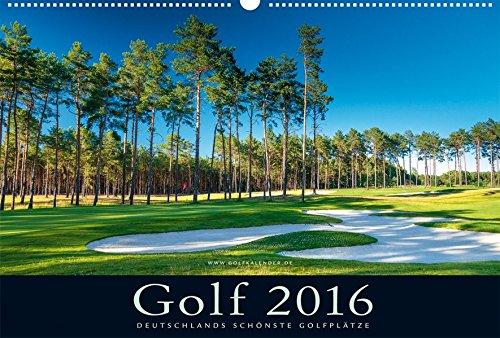 Golfkalender 2016: Deutschlands schönste Golfplätze