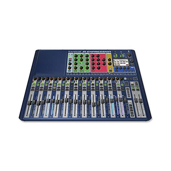 Sound Craft si Expression 2 · Mixer digitale