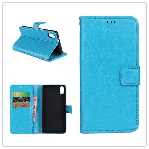 Custodia® Flip Brieftasche Hülle mit Standfunktion für Umi Umidigi One Max(Muster 4)