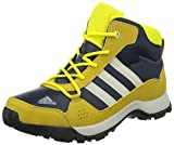 adidas Hyperhiker, Unisex-Kinder Trekking- & Wanderstiefel, Gelb (Midnight Grey F15/Core Black/Raw Ochre F15), 37 1/3 EU (4.5 Kinder UK)