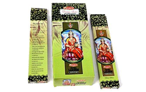 Tridev Jai Maa Lakshmi Holy Profumo di incenso 120Grams Box   6Confezioni da 20Grams in Una Scatola   esportazione qualità