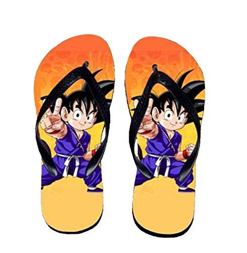 Bromeo Dragon Ball Anime Unisex Flip Flops Zehentrenner Flip Pantoffeln 892