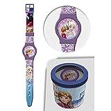 STAR LICENSING GEFROREN Frozen ELSA Anna Disney Uhr ANALOG Armband KONF. cm 24 - 50583LILLA
