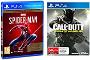 Marvel's Spider Man (PS4) - Game of the Year Edition (PS4) & Call of Duty: Infinite Warfa