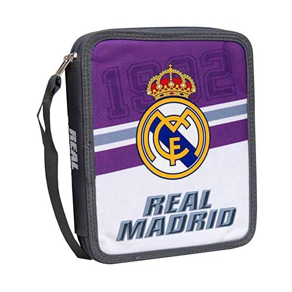 Plumier Real Madrid Purple White Triple
