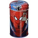 Spiderman - Hucha con candado, color rojo (Kids MV-92249)