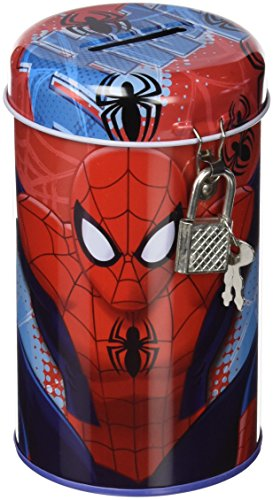 Spiderman Spardose mit (Geldbörse Die Sofia Erste)