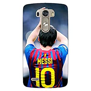 Jugaaduu Barcelona Messi Back Cover Case For Lg G3 D855