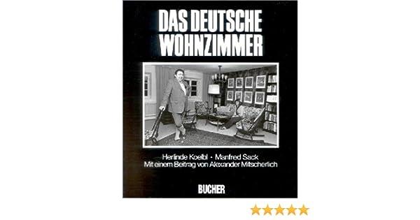 Das Deutsche Wohnzimmer Amazonde Manfred Sack Alexander