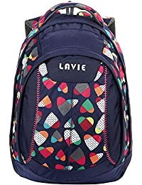 Lavie 25 Ltrs Navy Casual Backpack (BOEI256040D3)