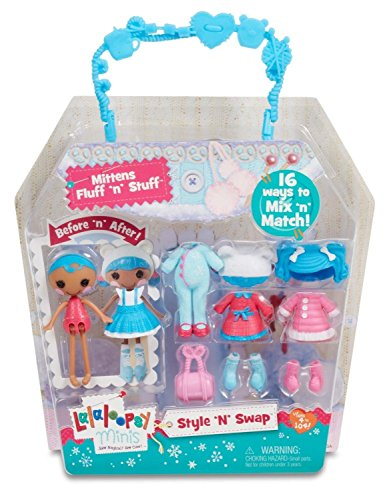 Lalaloopsy Minis Mittens Fluff N Stuf Puppe Puppen (Mehrfarbig, weiblich, Mädchen, 4Jahr (S), 104Jahr (S), Kunststoff)