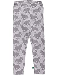 Fred's World by Green Cotton Baby Girls' Horse Leggings