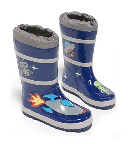 Kidorable Original Gebrandmarkt Gummistiefel, Regen Stiefel Weltraum für Jungen, Mädchen EU 20/21 Mädchen Cowboy-stiefel Unter $20
