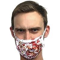 Spaventosa Vestito Per Halloween Surgeon Medico Zombie Denti Faccia Bocca Mascherina