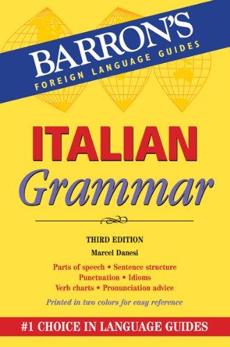 Italian Grammar, 3rd Edition (Barrons)