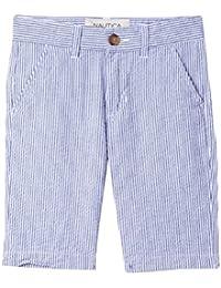 Nautica Boys' Flat Front Short