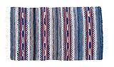 skandinavischen Made handgewebte wendbar Vintage Schwedische Teppich