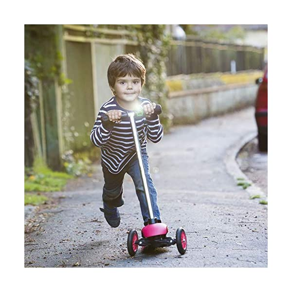 Scooti Lights Red with Black Spots Hippychick Fun ladybird design Simple to fit - loops around any buggy or scooter bar and secures with a hook Hard wearing - the stretchy silicone rubber strap is sturdy and designed so it perfectly fits all bars 6