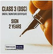DIGITAL SIGNATURE CERTIFICATE CLASS 3 DSC