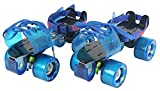 Dixon Adjustable PU Roller Wheel Skates for Seniors (Blue) Amazon