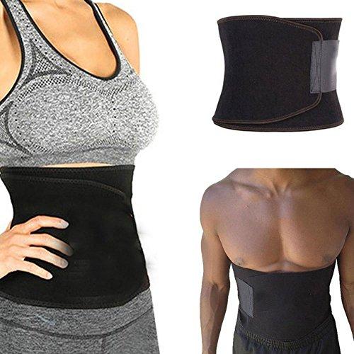 aptoco Waist Trimmer ajustable Cintura Cinturón para adelgazar con inferior de la espalda y Lumbar