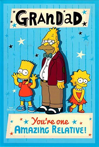 The Simpsons - Amazing Grandad Geburtstagskarte