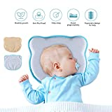 Homvik Baby Pillow for Plagiocephaly Cushion for...