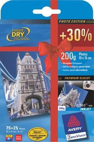 Visitenkarte A4 Bg 185G Blanko Mp 85X54Mm 10X10 für Inkjet Laser+Kopierer Ersatz für 32040