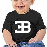 Maglietta a maniche corte con logo cjunp Baby Bugatti EB.L' età 2-6bambini bambini T Shirt 100% cotone, fatto a mano, è adatto per bambini e bambine.Si è evoluta inchiostro di qualità, sani Stampa.L' immagine stampata sulla parte anteriore e non s...