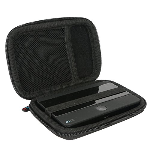 Khanka per TP-Link M7350 Wi-Fi Mobile Router Hotspot Portatile Portatile Eva Rigida Borsa da Viaggio