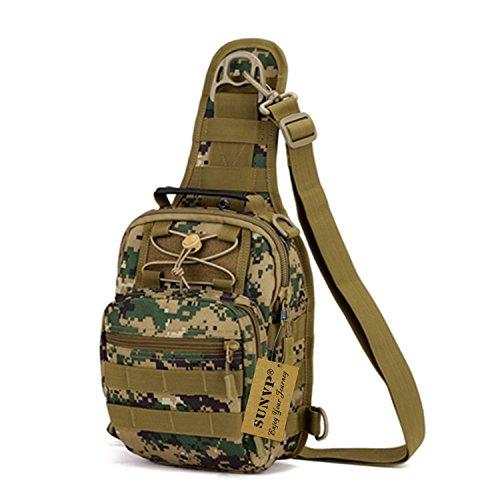 Sac à Dos Épaule Militaire Sacoche Tactiques Camping Randonnée Sac à Dos